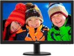 "Philips MONITOR 24"" 243V5LHAB LED FULL HD"