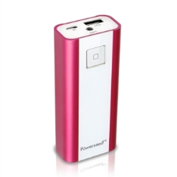 Powerseed Power Bank 4.800 mAh Fuxia